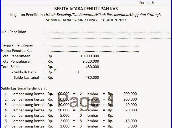 Accex: contoh format laporan keuangan sederhana | aplikasi.